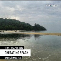 Photo taken at Cherating by adzmierz k. on 4/27/2013