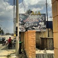 Photo taken at Azam Aquarium, Kelang Lama by adzmierz k. on 3/23/2014