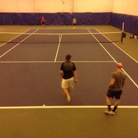 Photo taken at The Racquet Club by Chris K. on 12/29/2013