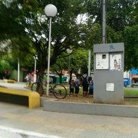 Photo taken at Praça Coronel Ribeiro by Degmar M. on 5/4/2017