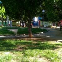 Photo taken at Praça Coronel Ribeiro by Degmar M. on 3/13/2017