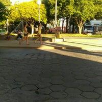 Photo taken at Praça Coronel Ribeiro by Degmar M. on 12/26/2016