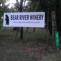 Photo taken at Bear River Winery by Mike W. on 5/11/2013