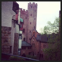 Photo taken at Burg Schwaneck by Victoria P. on 5/2/2013