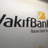 Photo taken at VakıfBank by mehmet d. on 4/26/2017