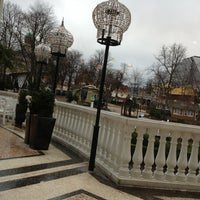 Photo taken at Nimb Brasserie by Ekaterina D. on 1/2/2013