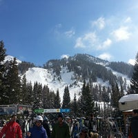 Photo taken at Snowbird Center Plaza by Mike G. on 3/1/2013