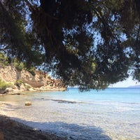 Photo taken at Kalamaki Beach Hotel Beach by Spiros P. on 7/5/2014