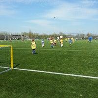 Photo taken at Voetbalvereniging DVV by Ingrid v. on 4/24/2013