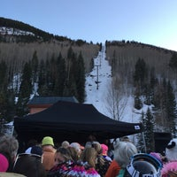 Photo taken at Telluride Gondola Station by Megan H. on 4/4/2016