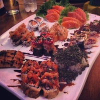 Photo taken at Hanbai Sushi Bar by Marcell S. on 11/5/2012