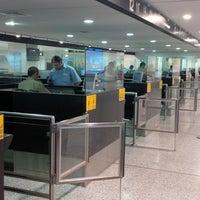 Photo taken at Beirut Rafic Hariri International Airport (BEY) by Hakim B. on 6/4/2013