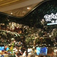 Photo taken at Rainforest Cafe by Jonathan G. on 5/25/2013