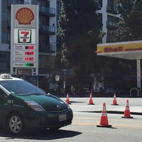 Photo taken at Shell by Nathalie on 3/8/2016