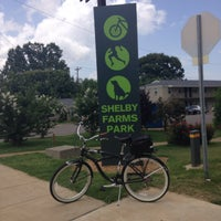 Photo taken at Shelby Farms Greenline @ Tillman St (West Terminus) by Eric J. on 6/13/2015