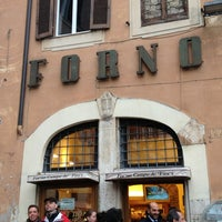 Photo taken at Forno Campo de' Fiori by Maya on 3/26/2013