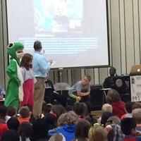Photo taken at Greenvale Elementary by Rhanwell B. on 2/25/2016
