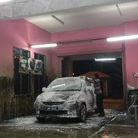 Photo taken at Car Wash alam budiman by Mei on 10/6/2016