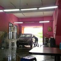 Photo taken at Car Wash alam budiman by Mei on 5/24/2016