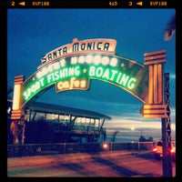 Photo taken at Santa Monica State Beach by Yujin L. on 1/23/2013