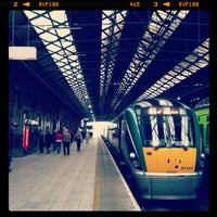 Photo taken at Dublin Connolly Railway Station by Yujin L. on 6/27/2013