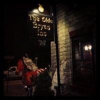 Photo taken at Olde Bryan Inn by Rolando R. on 11/25/2012
