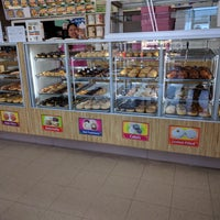 Photo taken at Donut Factory by Nick S. on 10/7/2017