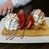 Photo taken at Le Petit Belge by Nick S. on 3/13/2018