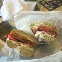 Photo taken at Bloomington Bagel Company by Tosha M. on 8/6/2016