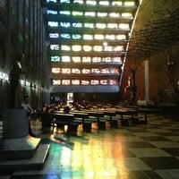 Photo taken at Iglesia El Rosario by Douglas F. on 4/6/2013