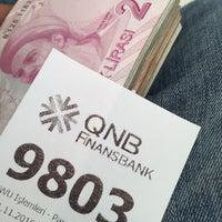 Photo taken at QNB Finansbank by Halil on 11/11/2016