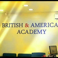 Photo taken at British & American Academy by Gökhan M. on 5/14/2015