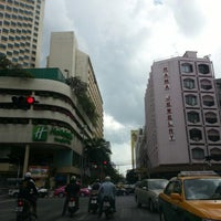 Photo taken at Surasak Intersection by Gjee A. on 10/24/2012