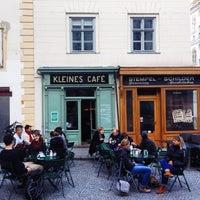 Photo taken at Kleines Café by Dmitry B. on 3/21/2014