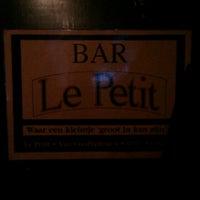 Photo taken at Bar Le Petit by Freek B. on 2/14/2013