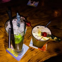 Photo taken at Hula Bula Bar by James F. on 2/13/2016