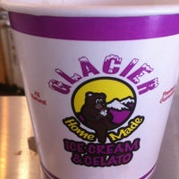 Photo taken at Glacier Homemade Ice Cream by Paul T. on 2/24/2013