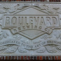 Photo taken at Boulevard Brewing Co by Paul T. on 10/20/2012