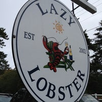 Photo taken at Lazy Lobster by Jessica W. on 9/29/2012