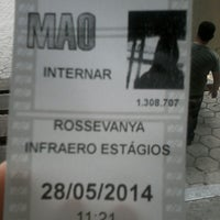 Photo taken at Recebimento De Importação - Teca 3 - Infraero by Rossevanya A. on 5/28/2014