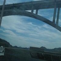 Photo taken at Mike O'Callaghan-Pat Tillman Memorial Bridge by Jo J. on 9/22/2012
