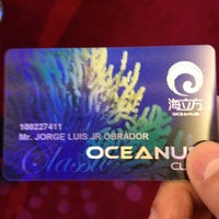 Photo taken at Casino Oceanus by Horhe L. on 8/24/2013