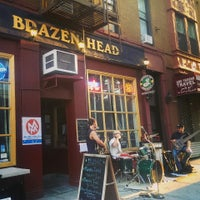 Photo taken at The Brazen Head by Jjjj E. on 6/21/2014