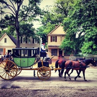 Photo taken at Colonial Williamsburg by Armistead B. on 7/14/2013