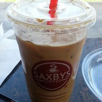 Photo taken at Saxbys Coffee by Heather B- D. on 4/11/2013