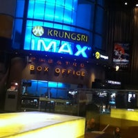 Photo taken at Krungsri IMAX Theatre by Aom K. on 9/17/2012
