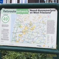 Photo taken at Fietsknooppunt 49 by Sander Z. on 8/3/2014