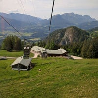 Photo taken at Jennerbahn Mittelstation 1200 m by Knoedel D. on 5/27/2016