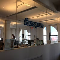 Photo taken at Foursquare HQ by Seth W. on 5/6/2013
