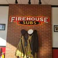 Photo taken at Firehouse Subs by Katie L. on 1/6/2018
